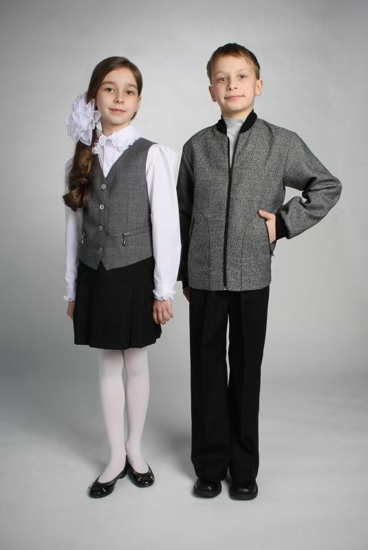 картинки школьная форма для девочек и мальчиков